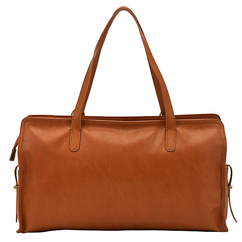 Buy Collection WEEKEND by John Lewis Grainy Tote, Tan Online at johnlewis.com