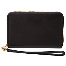 Buy Collection WEEKEND by John Lewis Leather Tech Purse Online at johnlewis.com