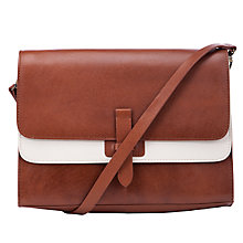 Buy Collection WEEKEND by John Lewis Winnie Leather Large Satchel Bag Online at johnlewis.com