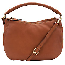 Buy John Lewis Alderney Leather Hobo Bag Online at johnlewis.com