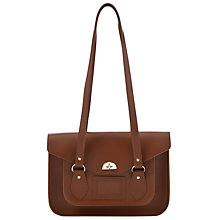 "Buy The Cambridge Satchel Company 14"" Leather Shoulder Bag Online at johnlewis.com"