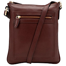 Buy John Lewis Carlyle Leather Small Square Across Body Handbag Online at johnlewis.com