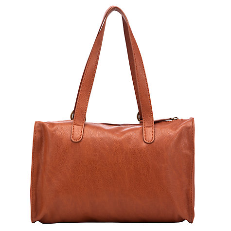 Buy Collection WEEKEND by John Lewis Grainy Grab Bag, Tan Online at johnlewis.com