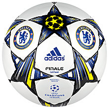 Buy Adidas Finale 13 Capitano Chelsea Supporters Football Online at johnlewis.com