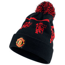Buy Nike Manchester United Beanie, Blue/Red Online at johnlewis.com