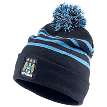 Buy Nike Manchester City Beanie, Blue Online at johnlewis.com