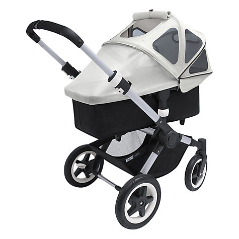 Buy Bugaboo Buffalo Breezy Sun Canopy, Grey Online at johnlewis.com