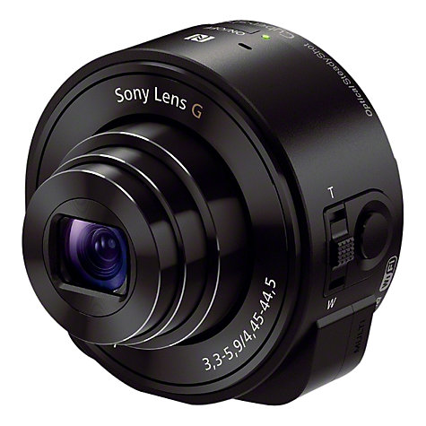 Buy Sony DSC-QX10 Lens Style Smartphone Camera, HD 1080p, 18MP, 10x Optical Zoom, Wi-Fi, NFC Online at johnlewis.com