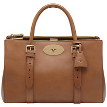 Buy Mulberry Bayswater Leather Double Zip Tote Bag Online at johnlewis.com