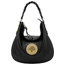 Buy Mulberry Daria Leather Medium Hobo Handbag Online at johnlewis.com