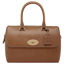 Buy Mulberry Del Rey Leather Grab Handbag Online at johnlewis.com