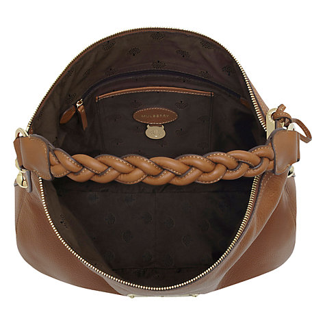 Buy Mulberry Daria Leather Medium Hobo Bag Online at johnlewis.com