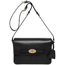 Buy Mulberry Bayswater Leather Shoulder Handbag Online at johnlewis.com