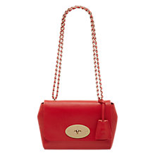 Buy Mulberry Lily Leather Small Shoulder Handbag Online at johnlewis.com