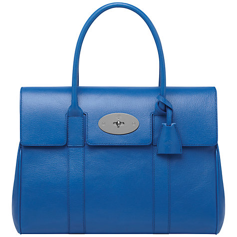 Buy Mulberry Bayswater Leather Grab Handbag Online at johnlewis.com