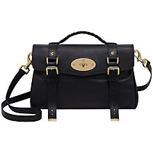 Buy Mulberry Alexa Leather Messenger & Shoulder Bag Online at johnlewis.com