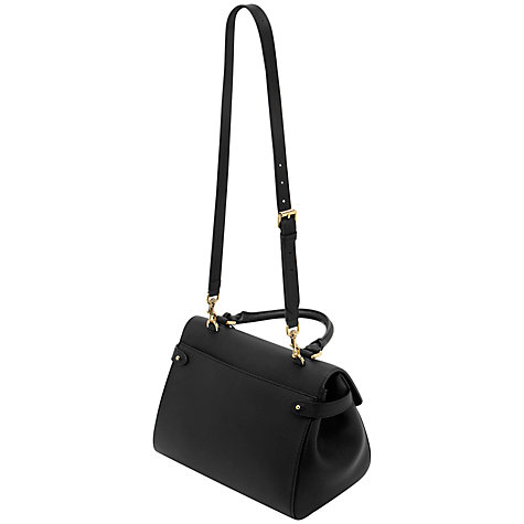 Buy Mulberry Primrose Leather Handbag, Grainy Black Online at johnlewis.com