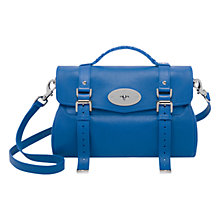 Buy Mulberry Alexa Leather Messenger & Shoulder Handbag Online at johnlewis.com