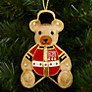 Buy Tinker Tailor Union Jack Teddy Tree Decoration Online at johnlewis.com