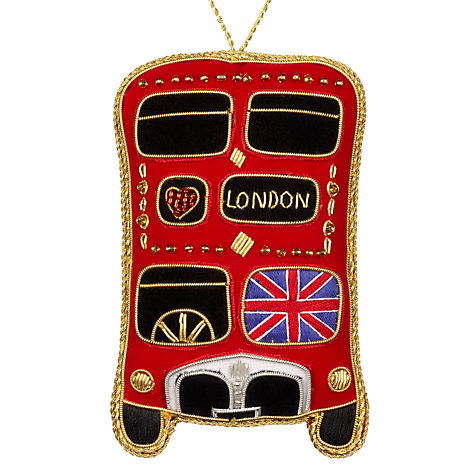 Buy tinker tailor tourism union jack london bus hanging for Decoration murale union jack
