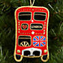 Buy Tinker Tailor Union Jack London Bus Hanging Decoration Online at johnlewis.com