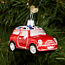 Buy Bombki Little UK Mini Cooper Glass Hanging Decoration, Multi Online at johnlewis.com