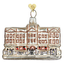 Buy Bombki Little Buckingham Palace Hanging Decoration, Multi Online at johnlewis.com