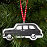 Buy Deck The Halls London Taxi Wooden Tree Decoration Online at johnlewis.com