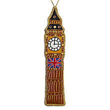 Buy Tinker Tailor Big Ben Tree Decoration Online at johnlewis.com