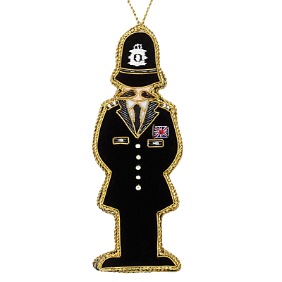 Image of Tinker Tailor Tourism Policeman Tree Decoration