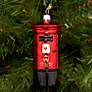 Buy Bombki Large Post Box Glass Tree Decoration, Red Online at johnlewis.com