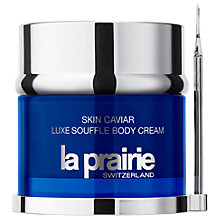 Buy La Prairie Caviar Luxe Soufflé Body Cream, 150ml Online at johnlewis.com