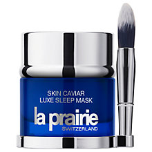 Buy La Prairie Caviar Luxe Sleep Mask, 50ml Online at johnlewis.com