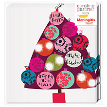 Buy Caroline Gardner Bauble Tree Charity Christmas Cards, Box of 5 Online at johnlewis.com