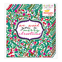 Buy Caroline Gardner Berry Christmas Charity Christmas Cards, Pack of 5 Online at johnlewis.com