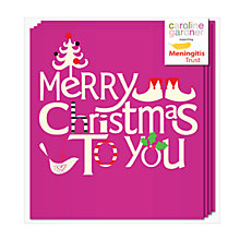 Buy Caroline Gardner Merry Christmas To You Charity Christmas Cards, Pack of 5 Online at johnlewis.com