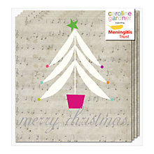 Buy Caroline Gardner Musical Tree Charity Christmas Cards, Pack of 5 Online at johnlewis.com