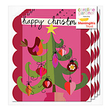 Buy Caroline Gardner Robin In Tree Charity Christmas Cards, Pack of 5 Online at johnlewis.com