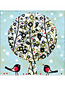 Almanac Floral Tree Charity Christmas Cards, Box of 8
