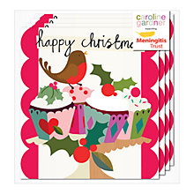 Buy Caroline Gardner Robin Angel Charity Christmas Cards, Pack of 5 Online at johnlewis.com