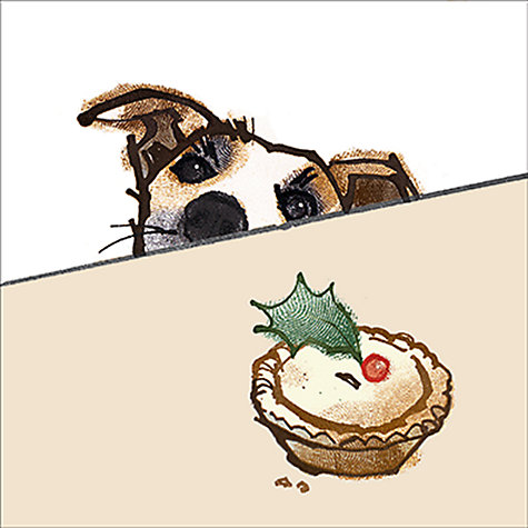Buy Almanac Mince Pie Eyes Charity Christmas Cards, Box of 8 Online at johnlewis.com