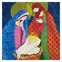 Buy Almanac Nativity Charity Christmas Cards, Box of 8 Online at johnlewis.com