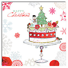 Buy Hammond Gower Christmas Cake Charity Christmas Cards, Pack of 5 Online at johnlewis.com