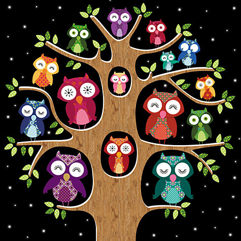 Buy Paperhouse Owls Charity Christmas Cards, Box of 6 Online at johnlewis.com