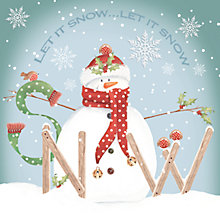 Buy Paperhouse Let It Snow Charity Christmas Cards, Box of 6 Online at johnlewis.com