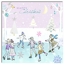 Buy Hammond Gower Ice Skaters Charity Christmas Cards, Pack of 5 Online at johnlewis.com