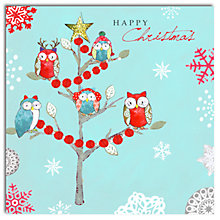 Buy Hammond Gower Owl Tree Charity Christmas Cards, Pack of 5 Online at johnlewis.com