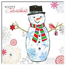 Buy Hammond Gower Snowman Charity Christmas Cards, Pack of 5 Online at johnlewis.com