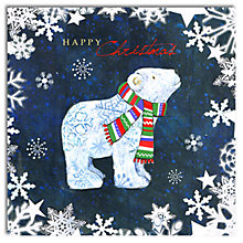 Buy Hammond Gower Polar Bear Charity Christmas Cards, Pack of 5 Online at johnlewis.com