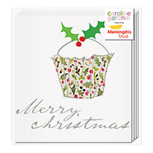 Buy Caroline Gardner Floral Cupcake Charity Christmas Cards, Box of 5 Online at johnlewis.com